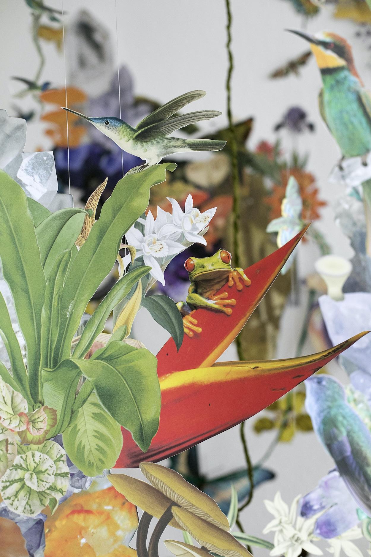 Installation Art Displaying Biodiversity