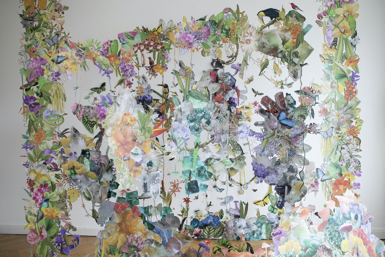 Installation Artwork Titled Biodiversity