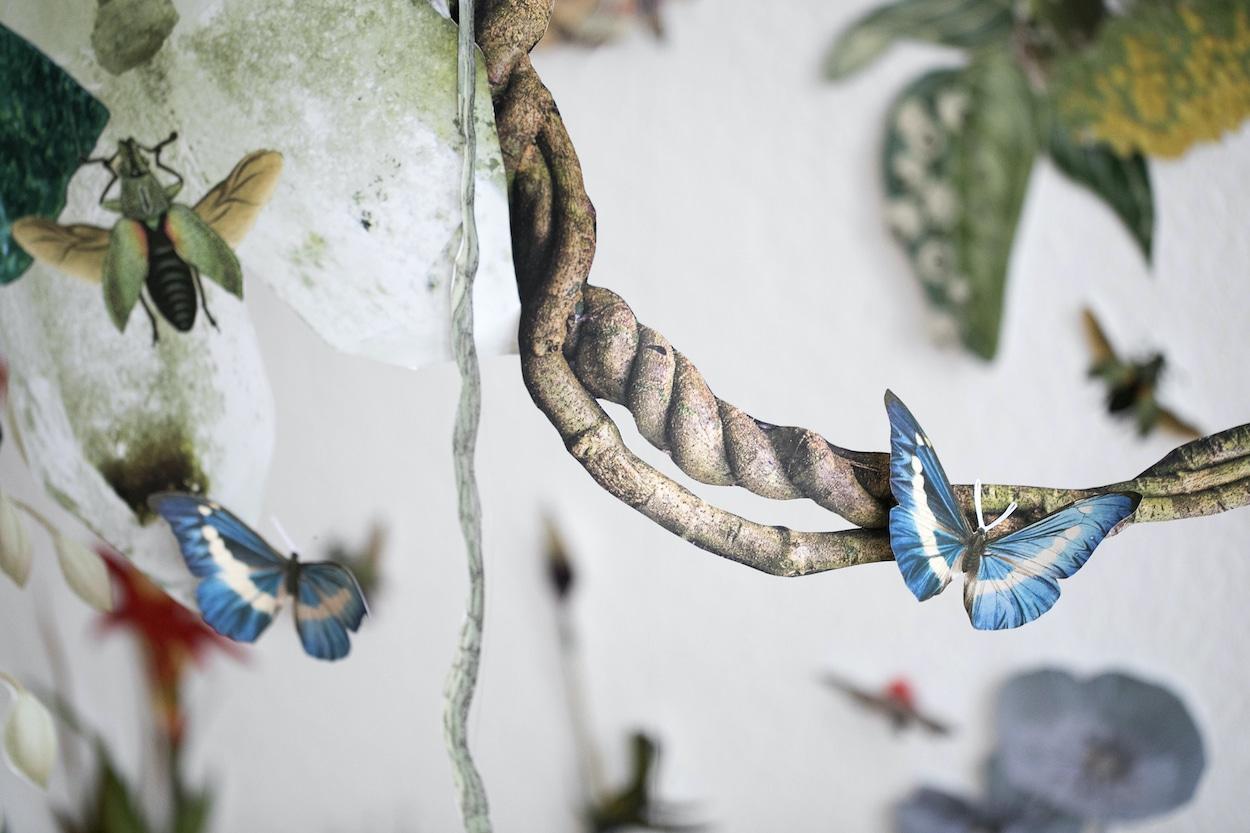 Ecosystem Created through Installation Art