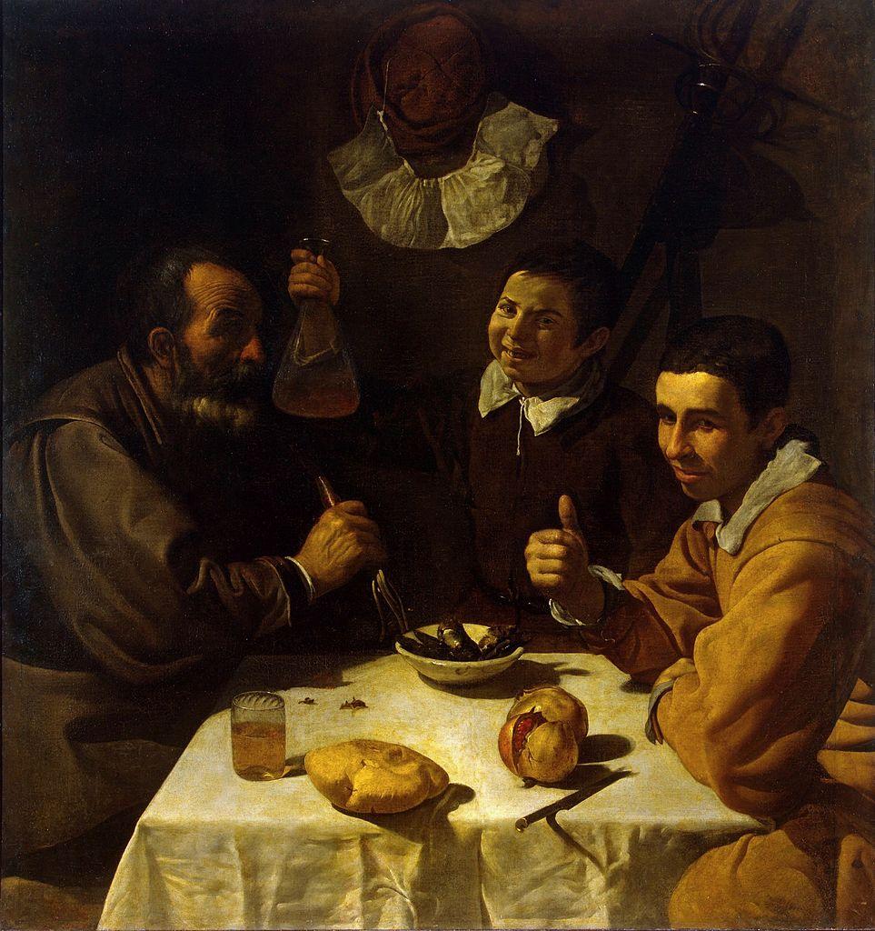 El almuerzo de Diego Velázquez