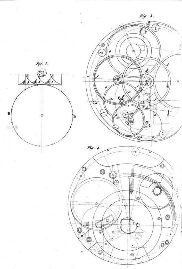 John Harrison Designs For h4 Sea Watch Chronometer