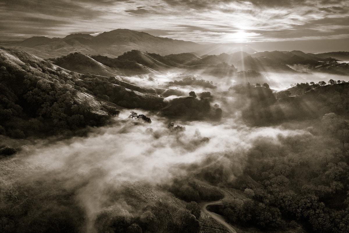 Estribaciones del monte Diablo, California
