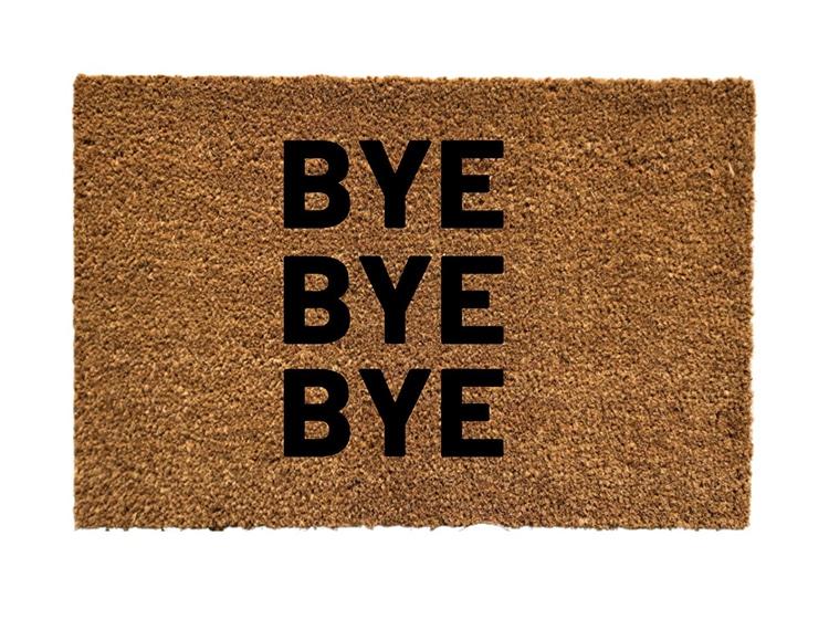 *NSYNC Doormat Bye Bye Bye