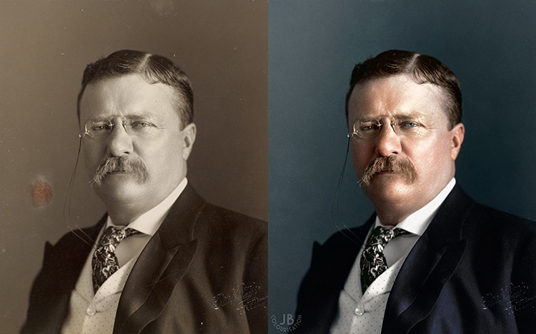Theodore Roosevelt Presidential Portrait James Berridge