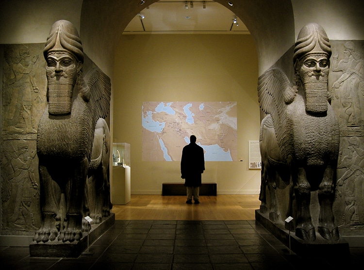 The Gate of Nimrud Llamasu Met Museum