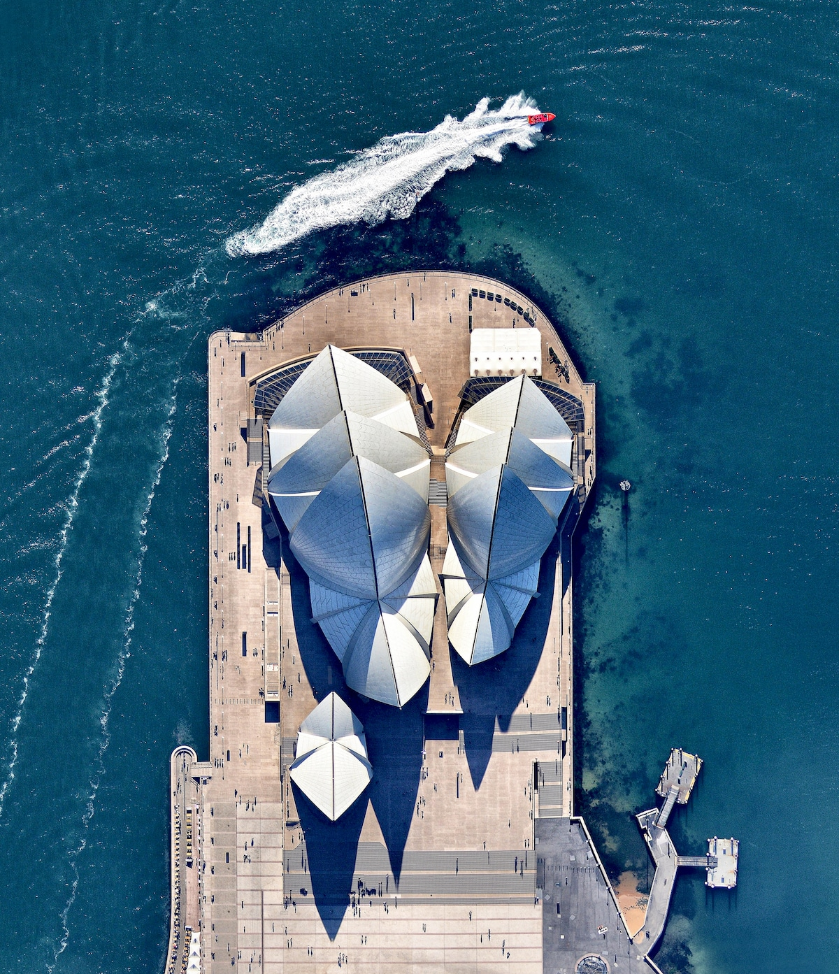Aerial Photo of the Sydney Opera House