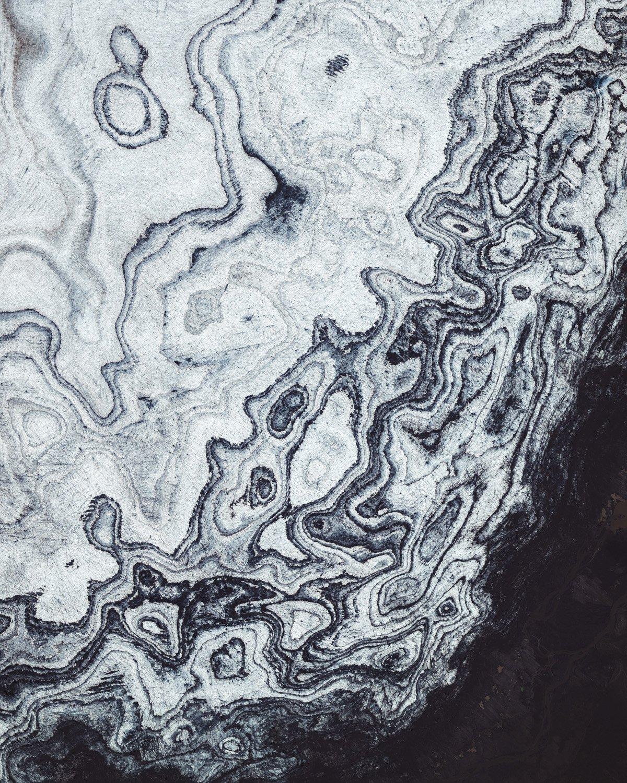 vista aerea de Vatnajokull