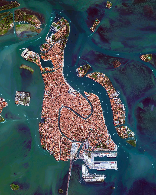vista aerea de venecia