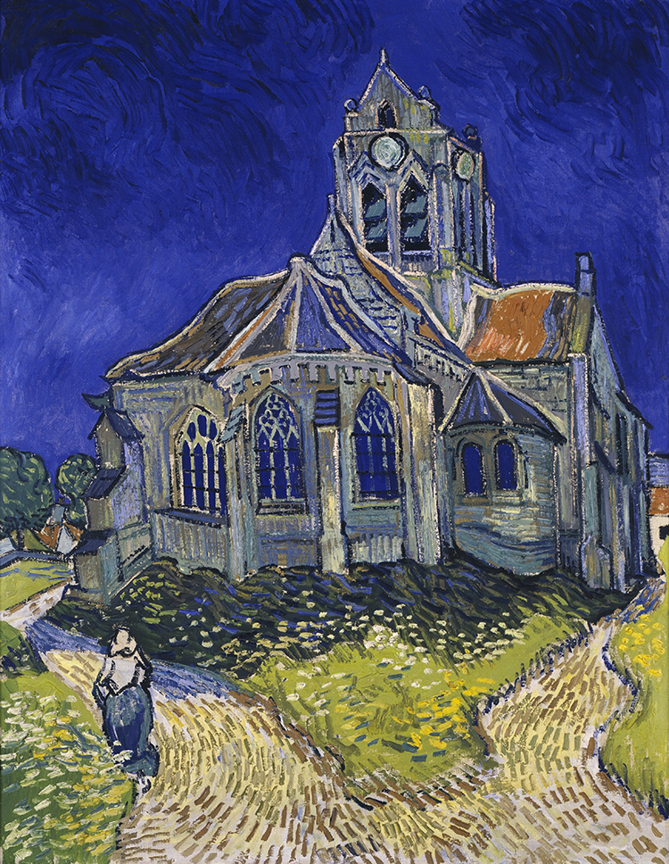 The Church In Auvers Sur Oise