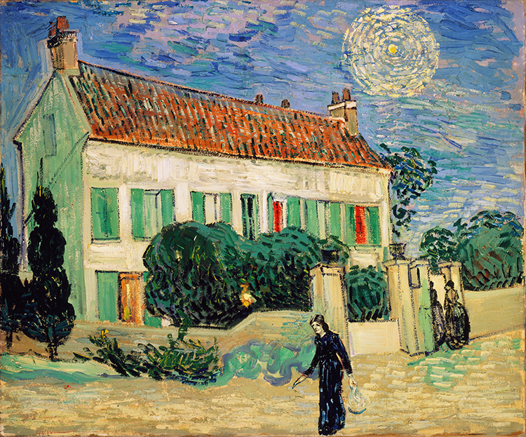 Van Gogh Worldwide Database White House Night
