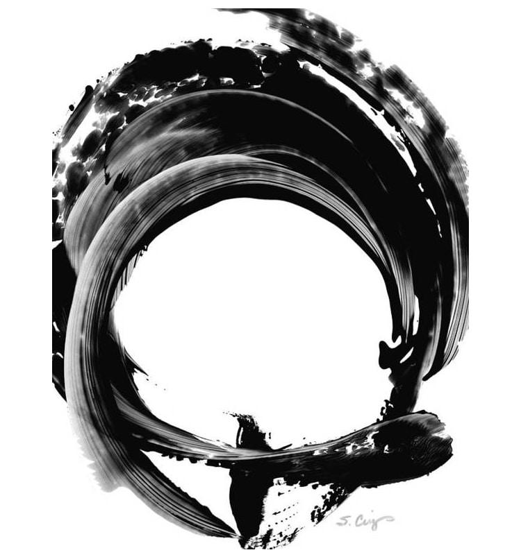 Zen Art by Sharon Cummings