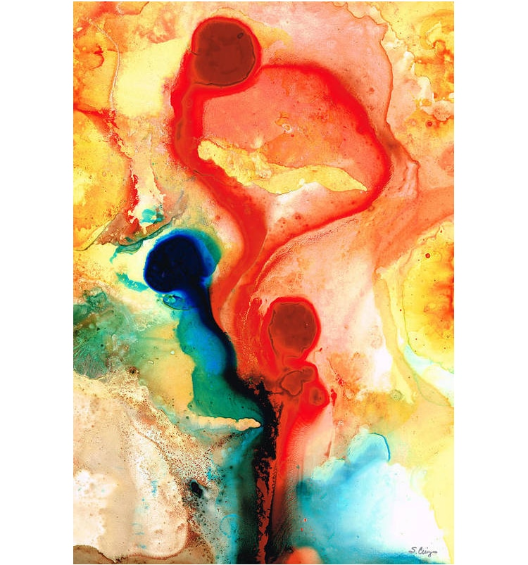 Abstract Art Print by Sharon Cummings