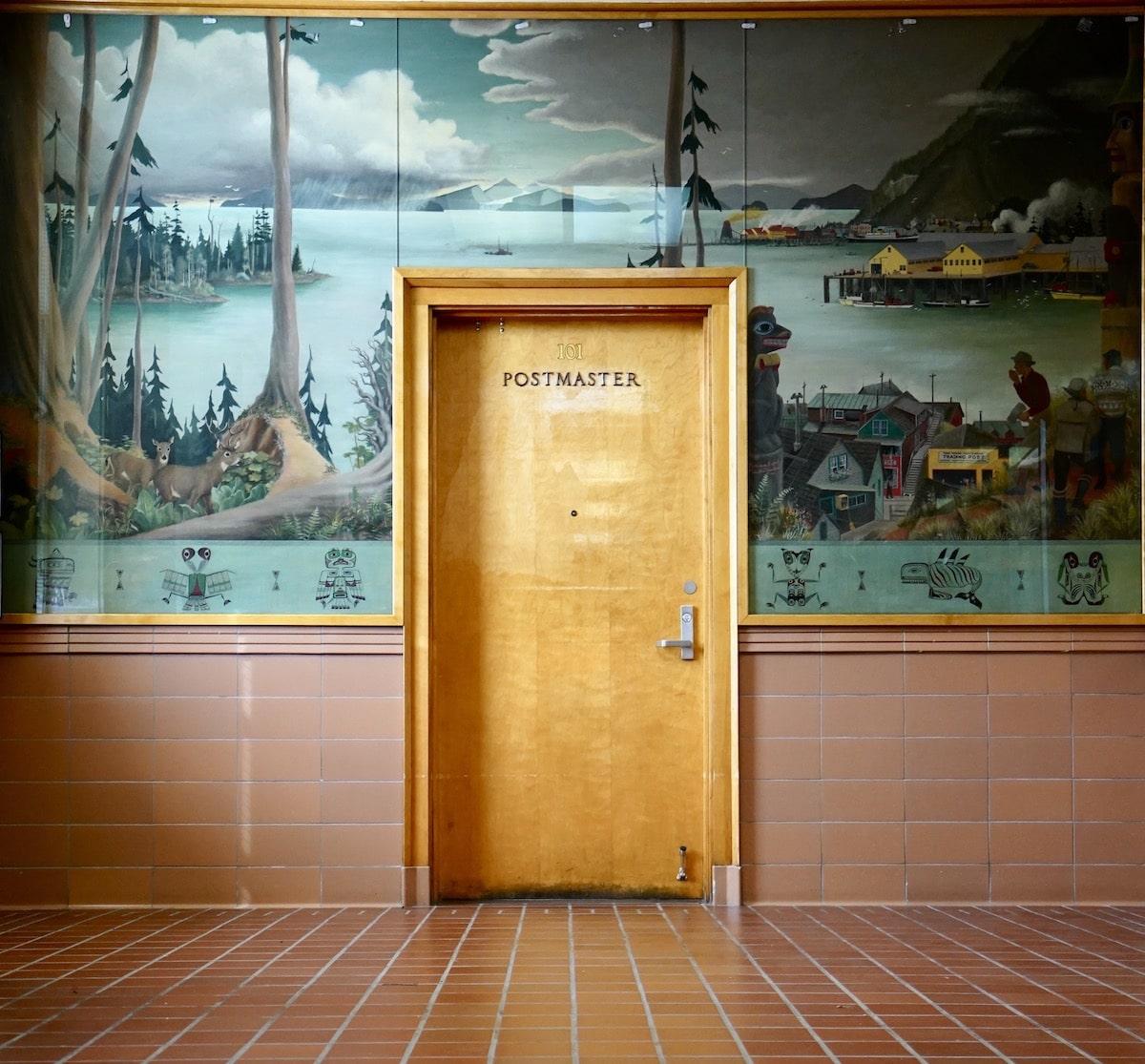 Postmaster Alaska arquitectura de accidentally wes anderson