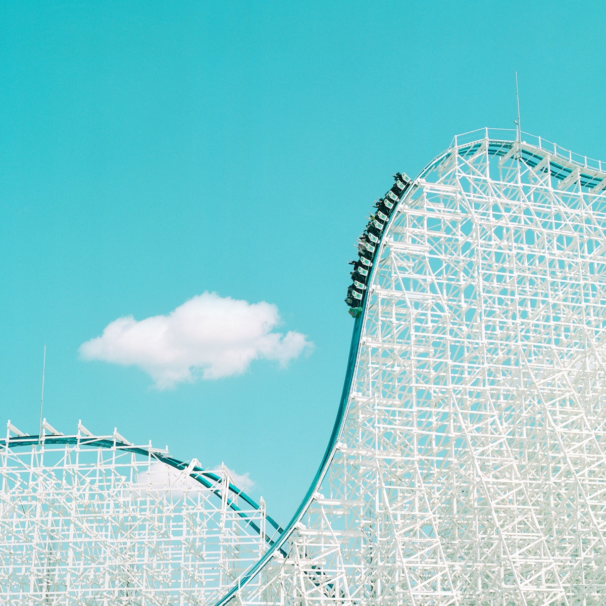 Nagashima Spa Land Roller Coaster