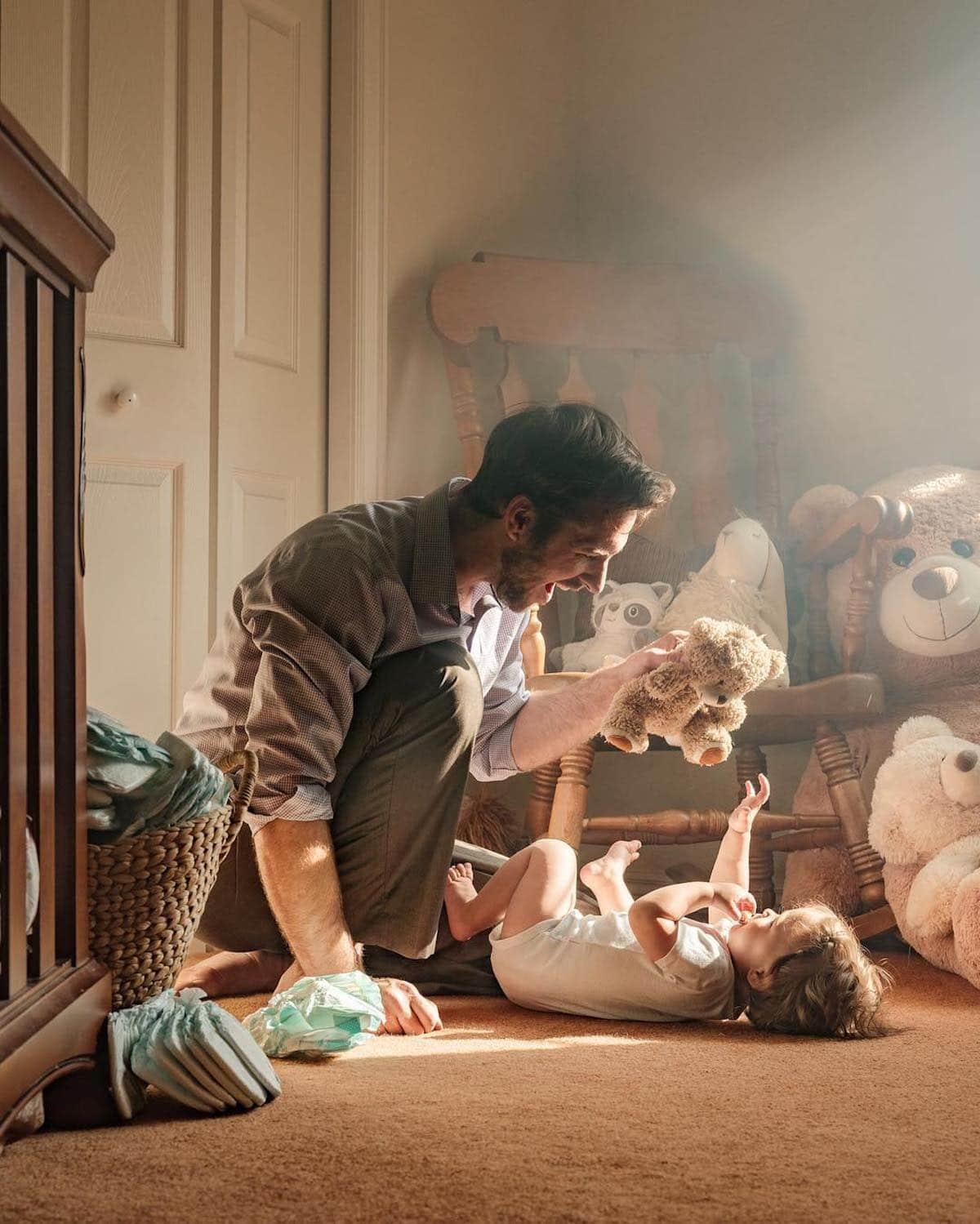 Creative Family Photo by Adrian C. Murray