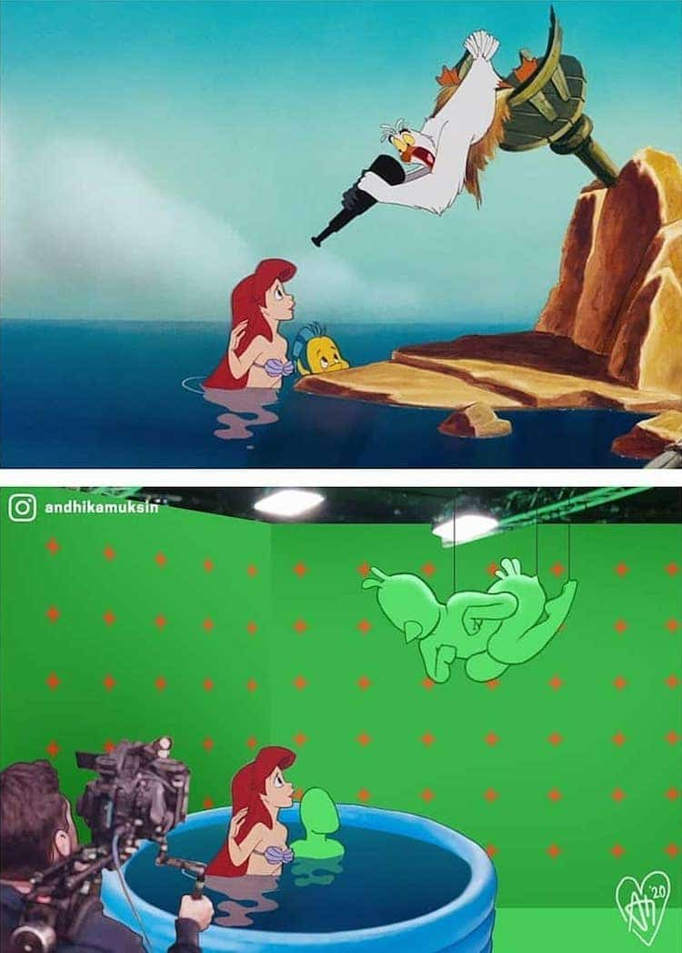 Disney Fan Art by Andhika Muksin