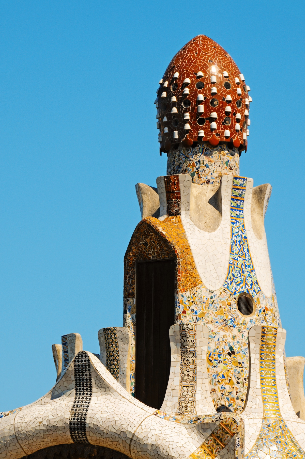 Roof Details on Gaudi's Work