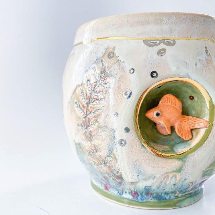 Ceramic Animal Mugs by AP Curiosities