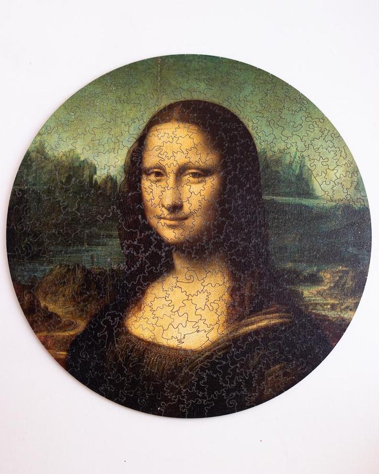 Mona Lisa Wood Jigsaw Puzzle