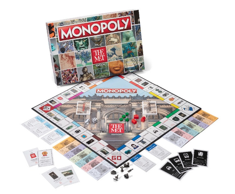 Monopoly The Met Edition