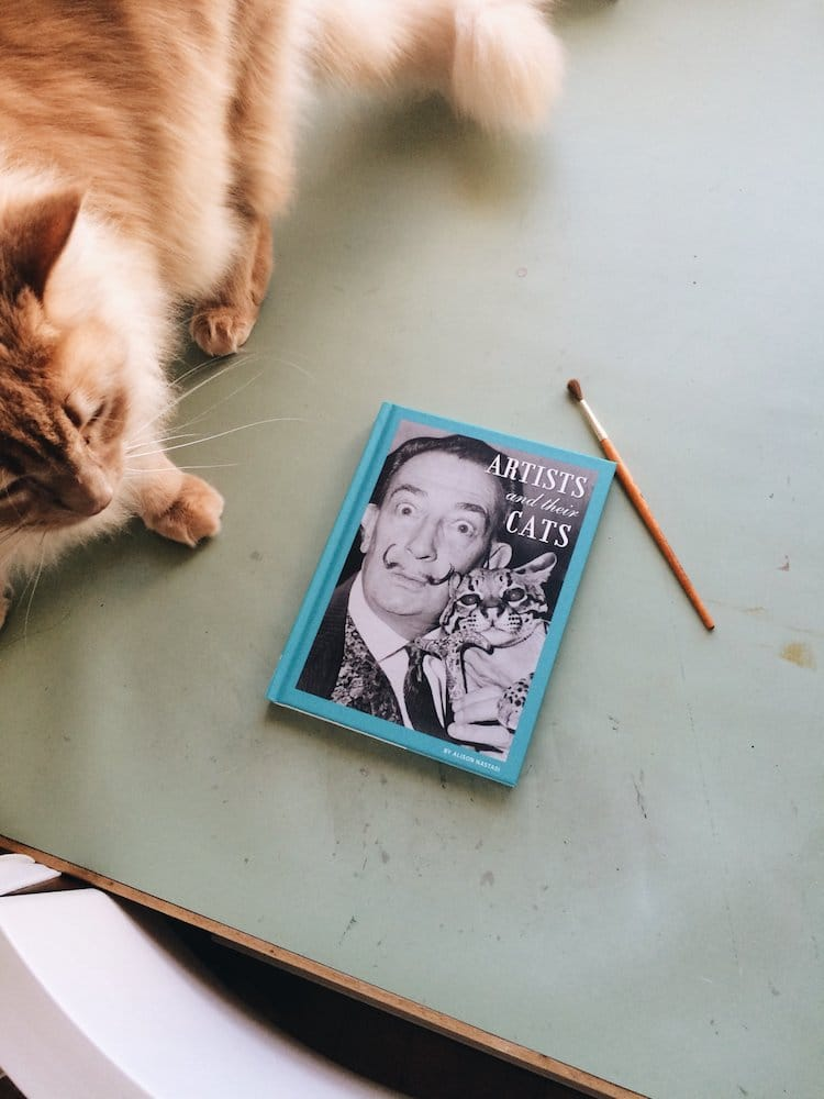 Artists and Their Cats Book