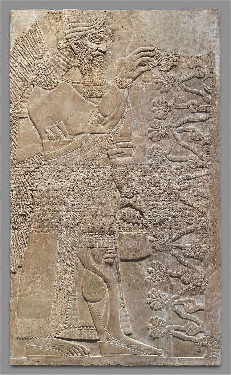 Wall Relief Genie Northwest Palace Nimrud, Iraq
