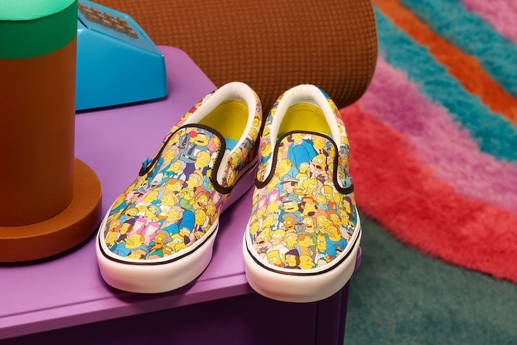 Vans and Simpsons Collaboration