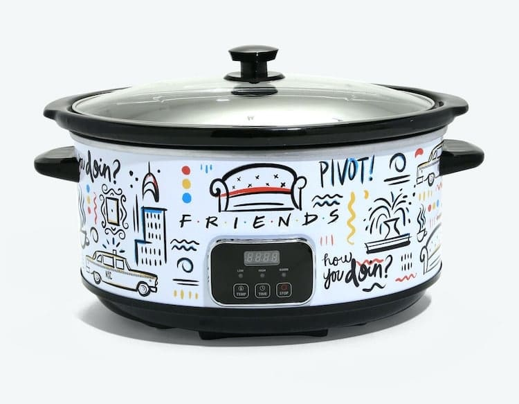 Friends Themed Slow Cooker