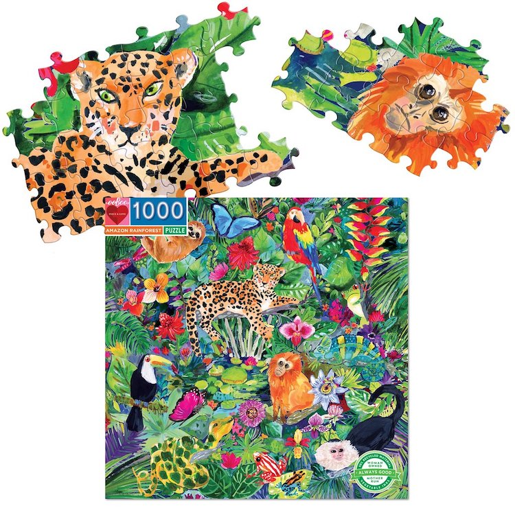 Amazon Rainforest Puzzle