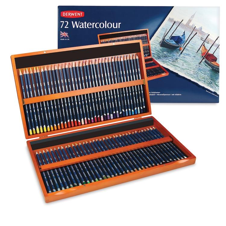 Derwent Watercolor Pencil Set for Professionals