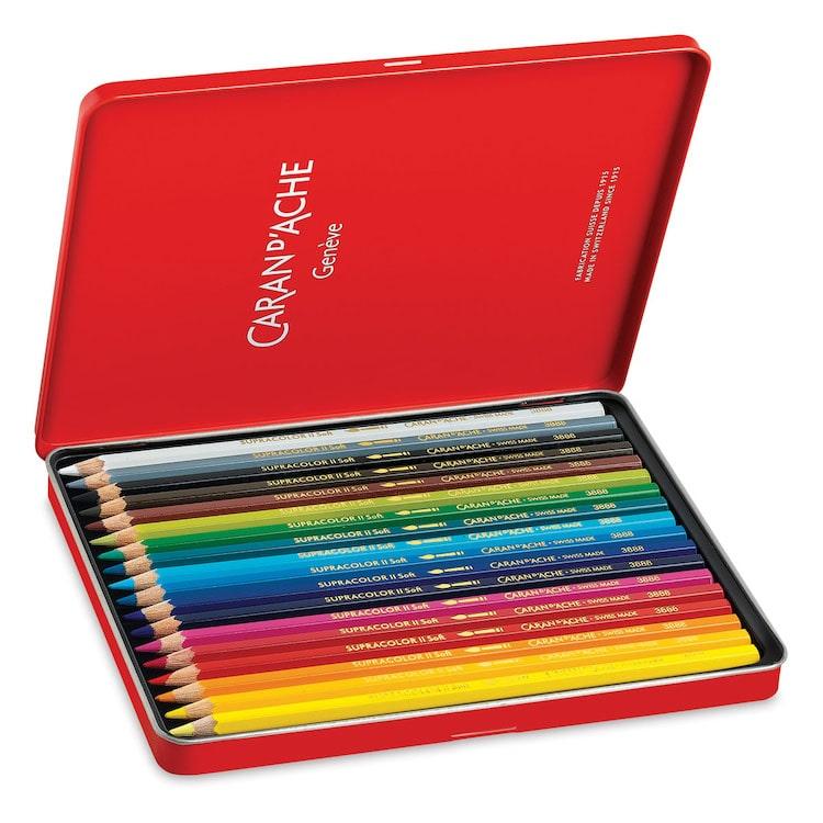 Caran d'Ache Soft Aquarelle Pencil Set