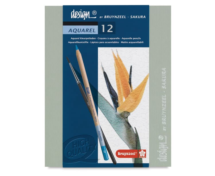 Bruynzeel Design Aquarel Pencils
