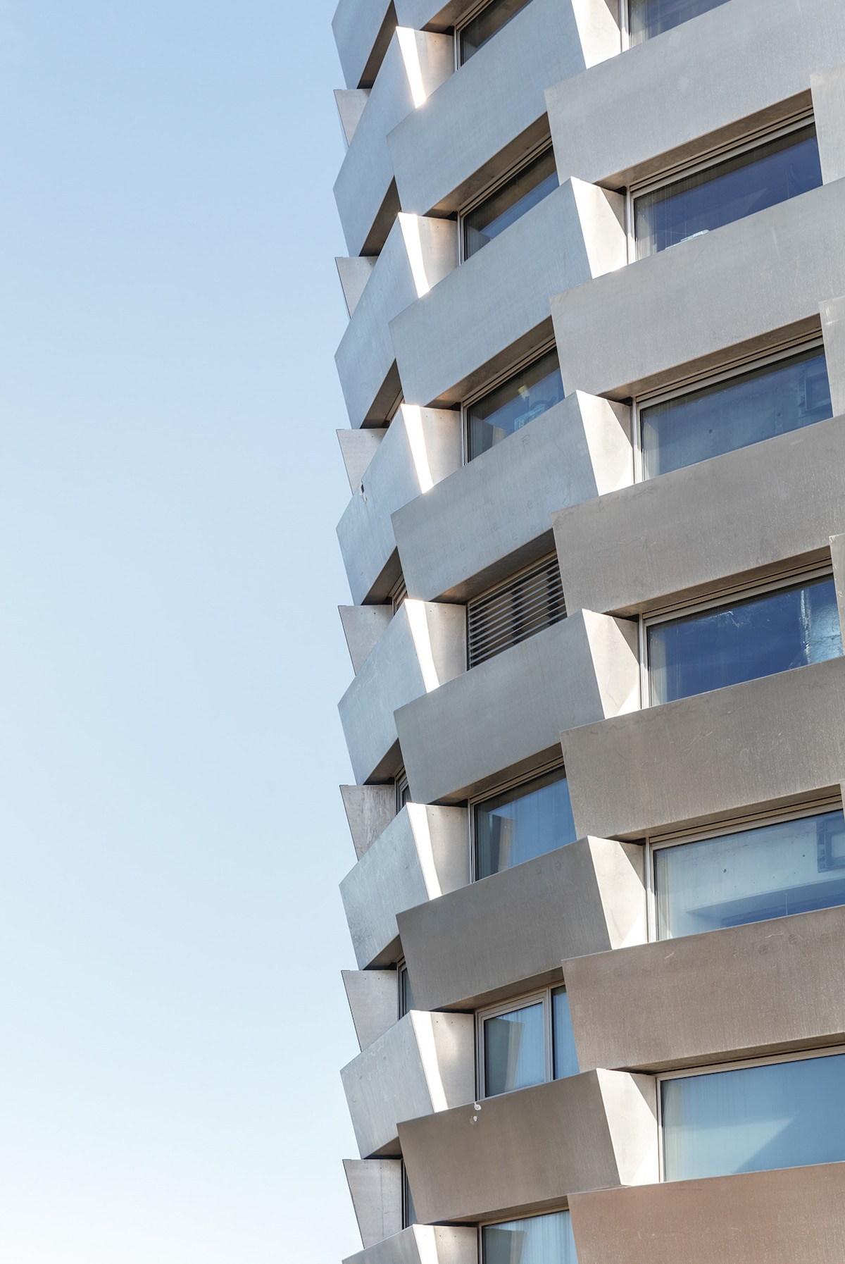 Closeup of Façade -Bjarke Ingel Group's Copenhill Is a Power Plant With a Ski Slope on Top
