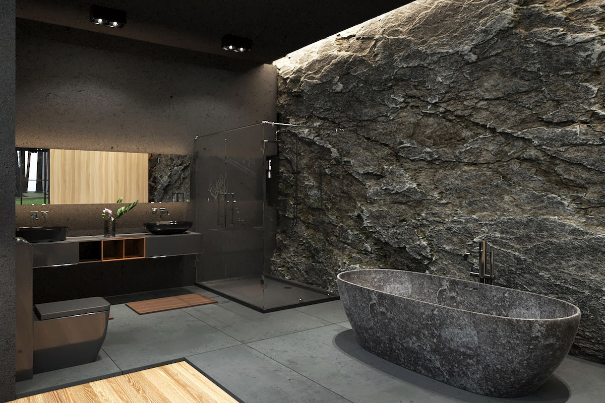 Architect Designs 'Black Villa' Getaway in Rural New York