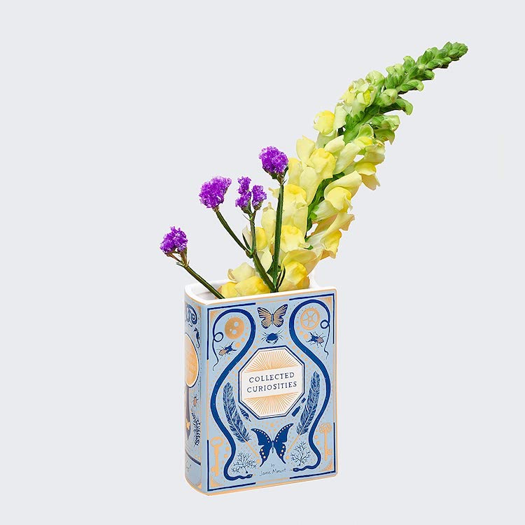 Ceramic Vase Shaped Like a Book