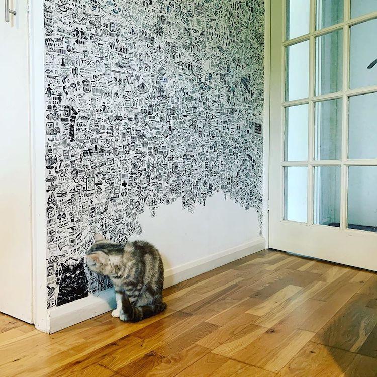 Wall Doodles by artistVik