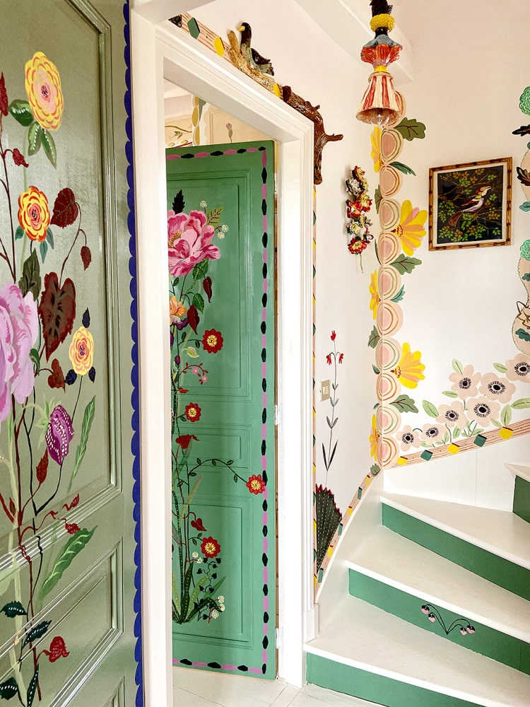Interior Murals by Nathalie Lété