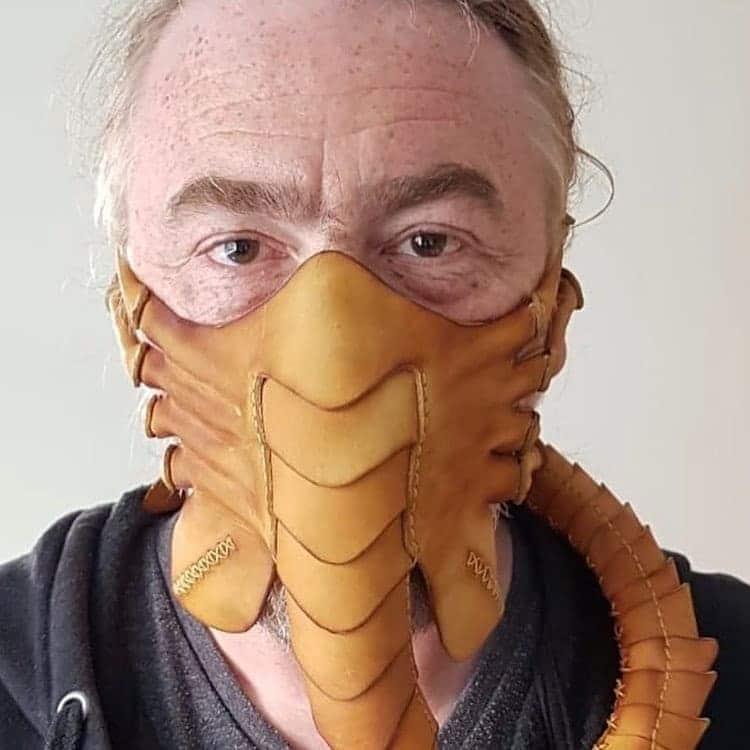 Alien-inspired Facehugger Mask