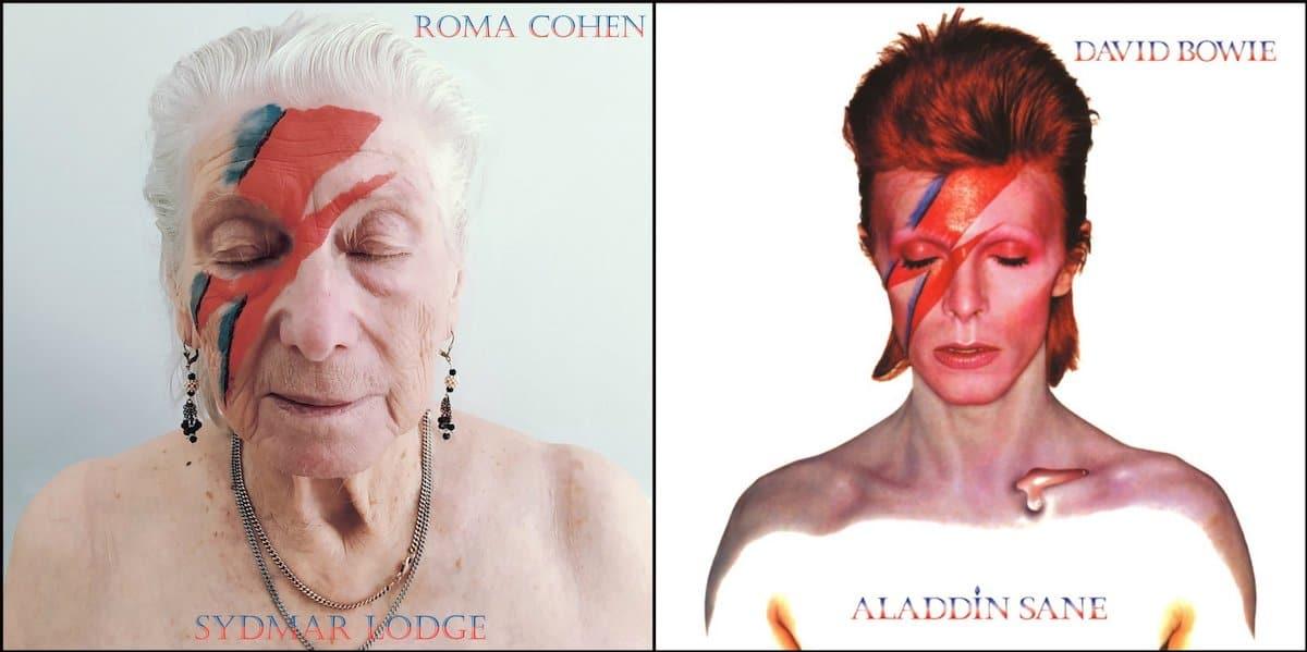 Amenida Seniors Community Recreate Album Covers