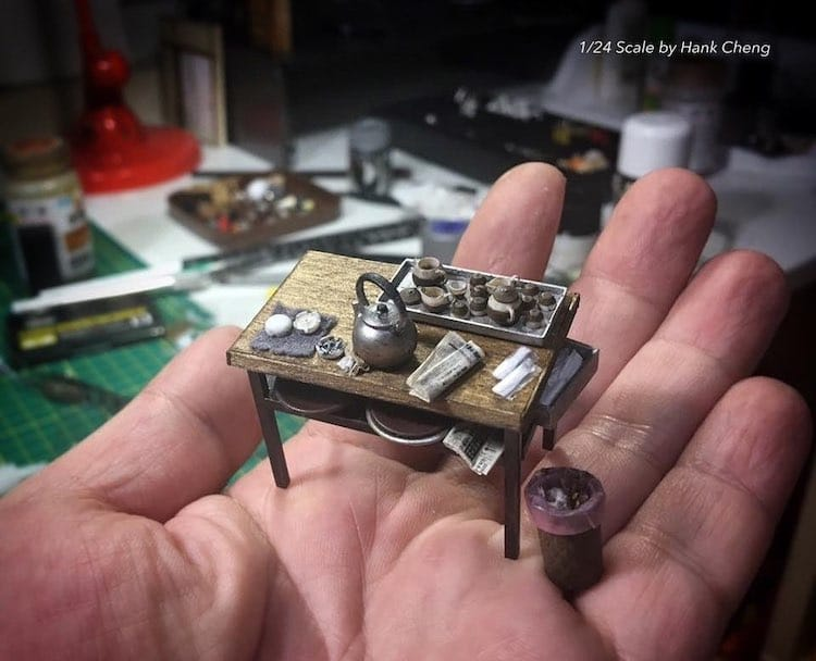 Miniature Art by Hank Cheng