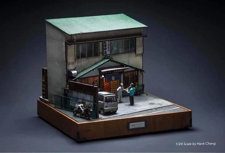 Diorama Art by Hank Cheng