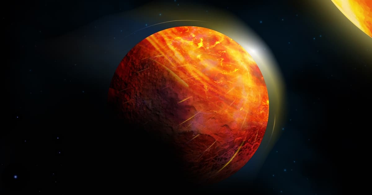 Scientists Discover a Planet Where It Rains Rocks and Oceans Are Made of Lava
