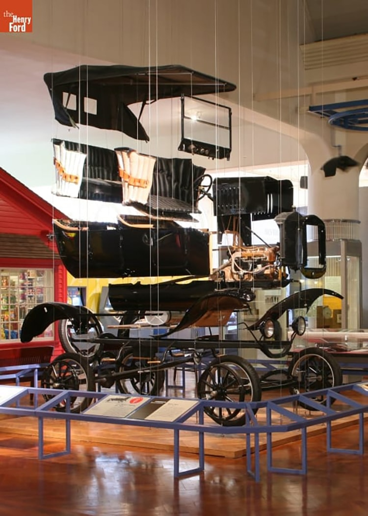Exploded Ford Model T Henry Ford Museum