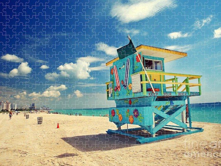 South Beach Miami Puzzle