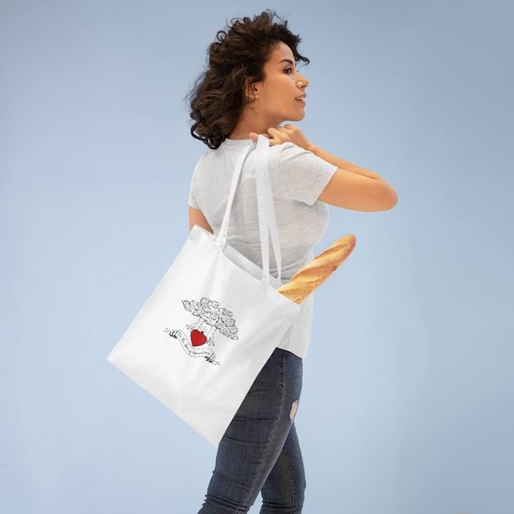 For the Love of Romanticism Tote Bag
