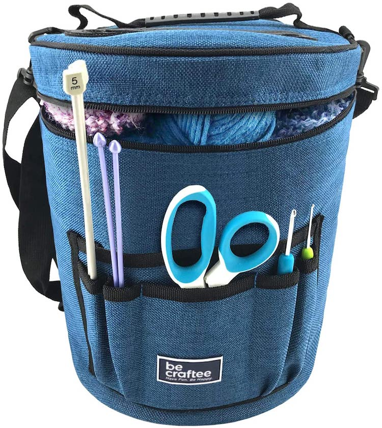 Knitter's Project Caddy