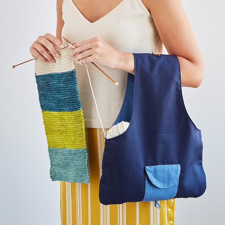 Travel Knitting Bag