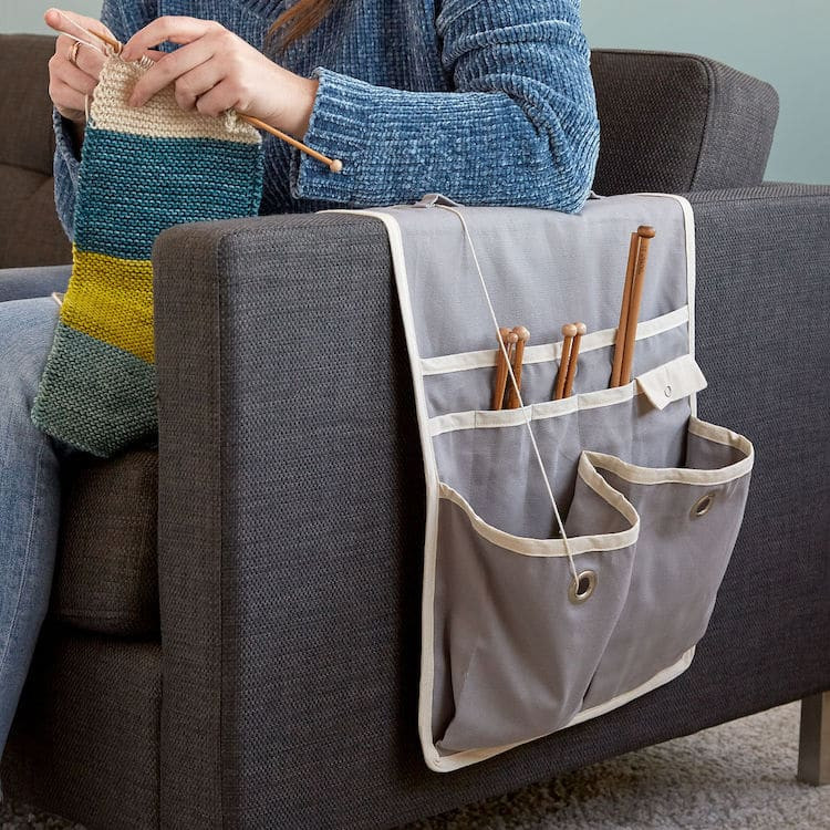 Knitting Couch Caddy