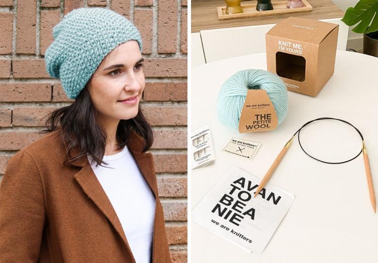 Beanie Knitting Kit