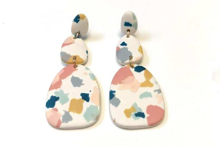Polymer Clay Earrings on Etsy